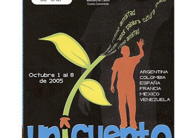 Mi participación en UNICUENTO 2005 en Cali, Colombia